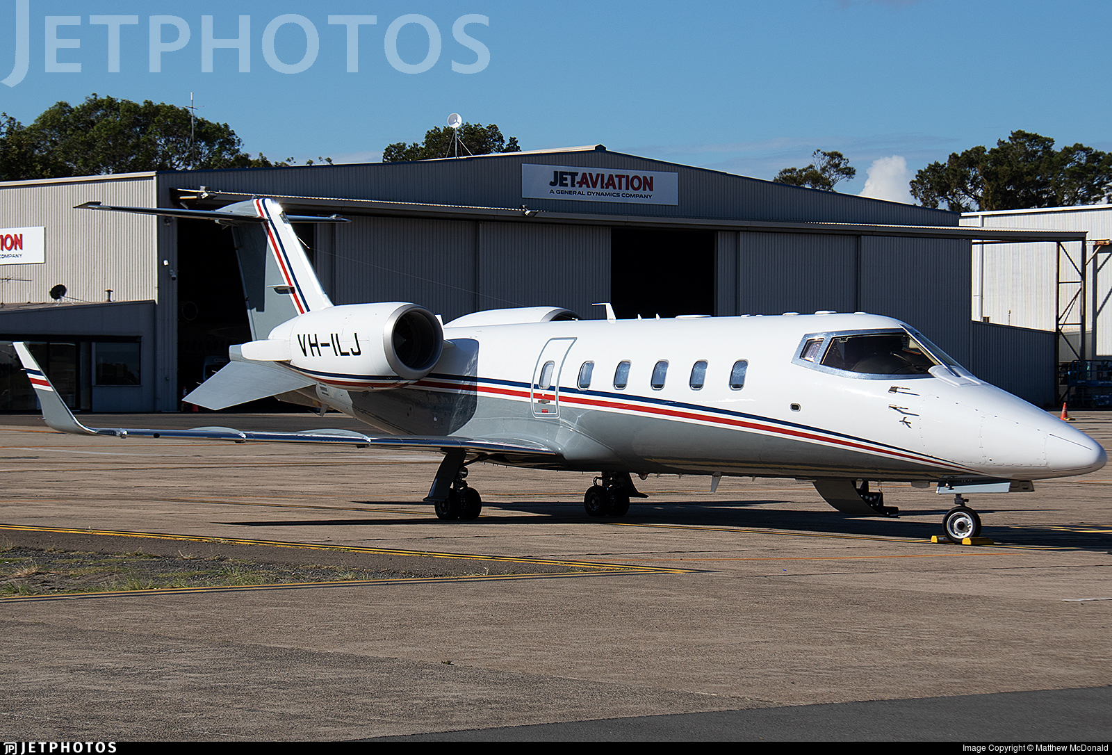 VH-ILJ - Bombardier Learjet 60 - Private
