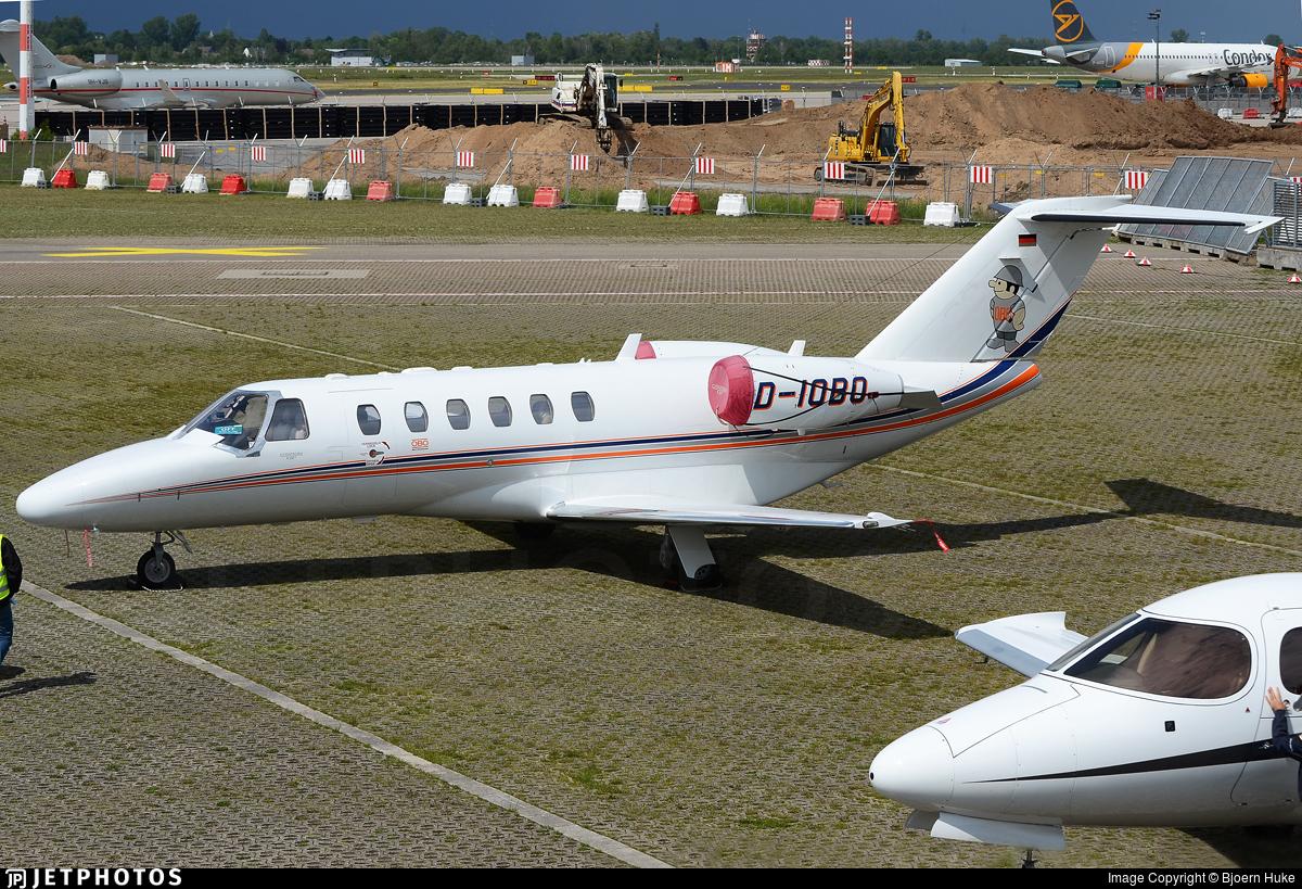 D-IOBO - Cessna 525A CitationJet 2 - Private