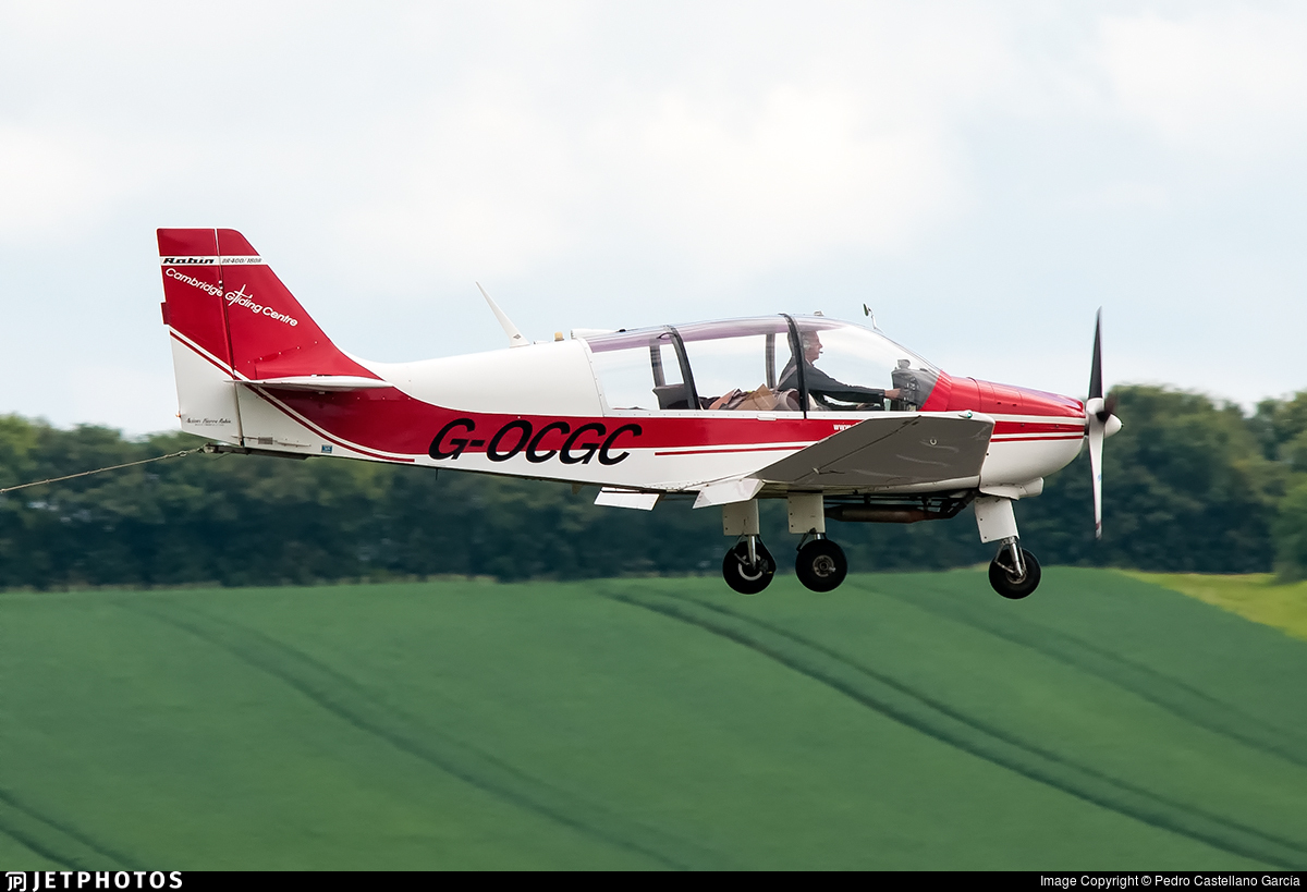 G-OCGC - Robin DR400/180R Remorqueur - Private