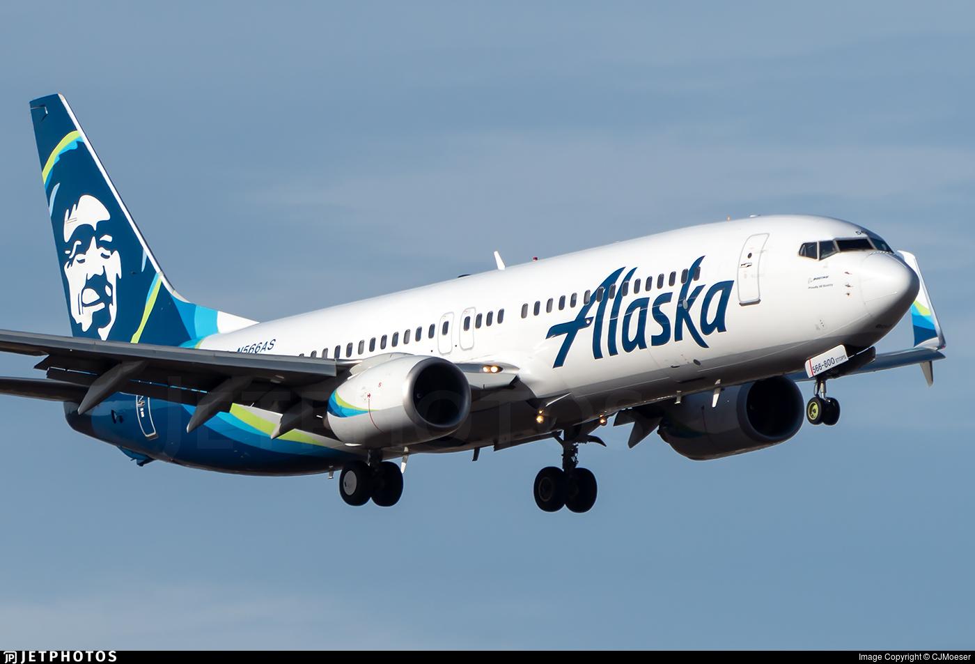 N566AS - Boeing 737-890 - Alaska Airlines
