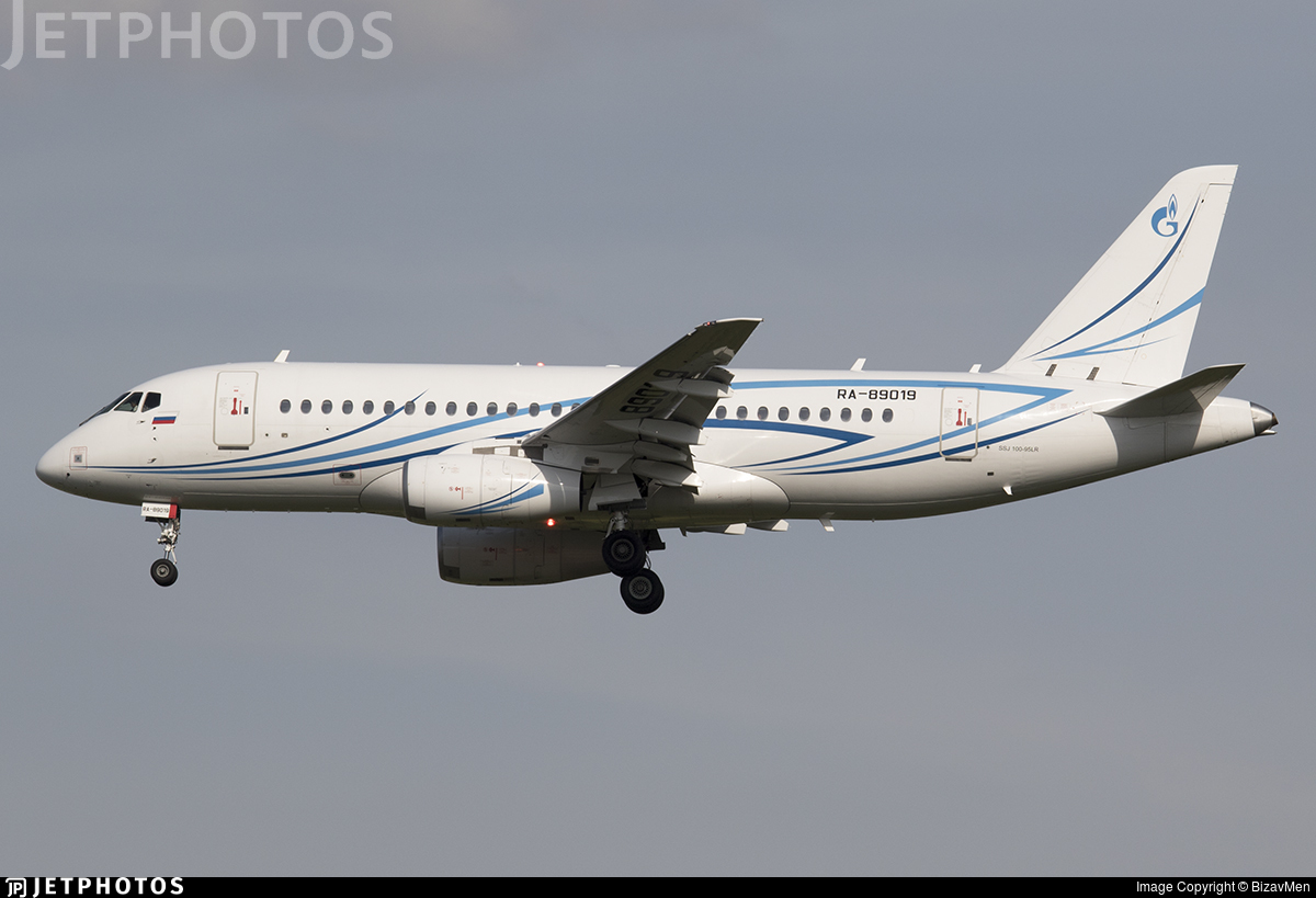 RA-89019 - Sukhoi Superjet 100-95LR - Gazpromavia