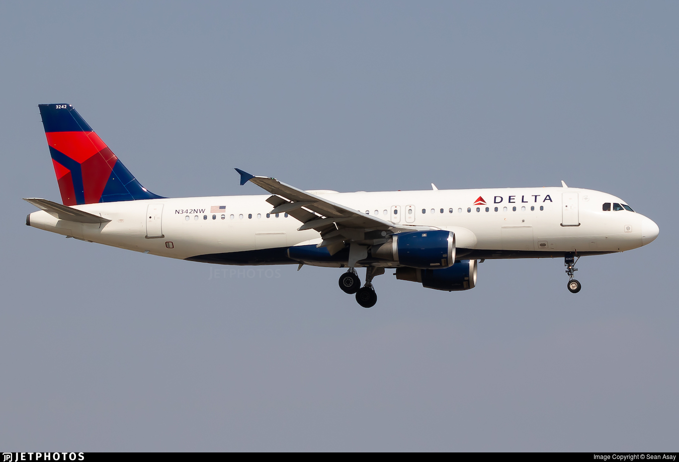 N342NW - Airbus A320-212 - Delta Air Lines