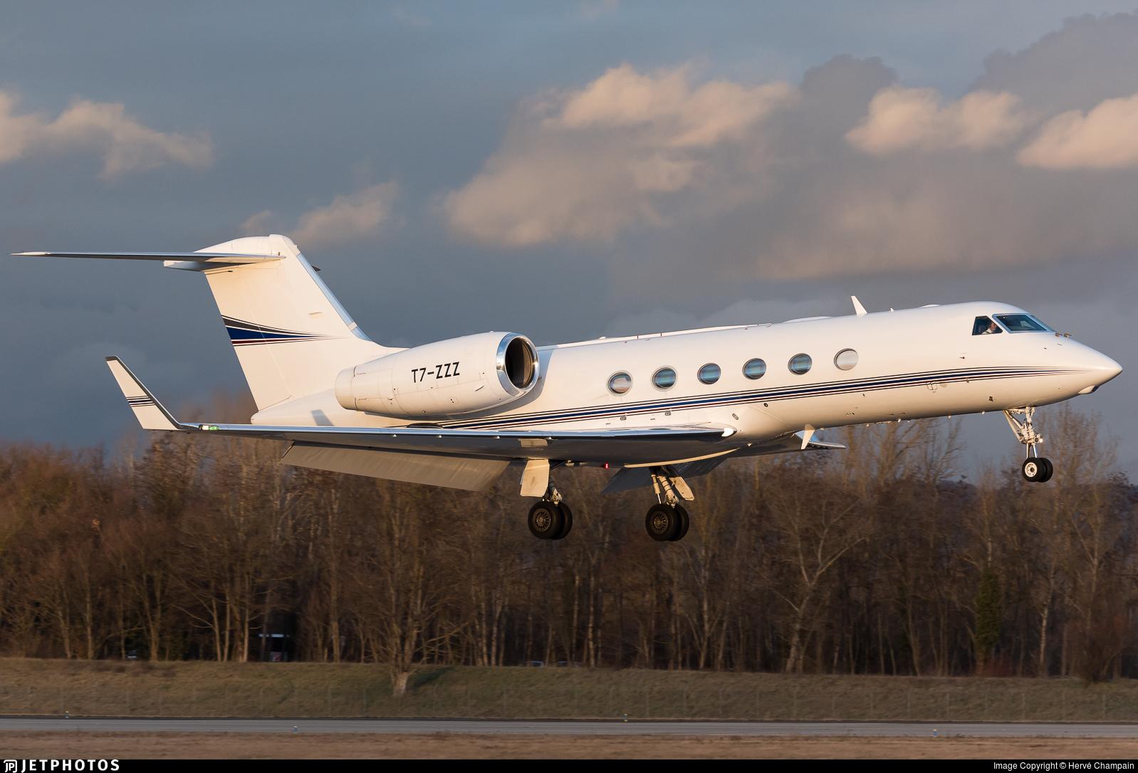 T7-ZZZ - Gulfstream G450 - Private