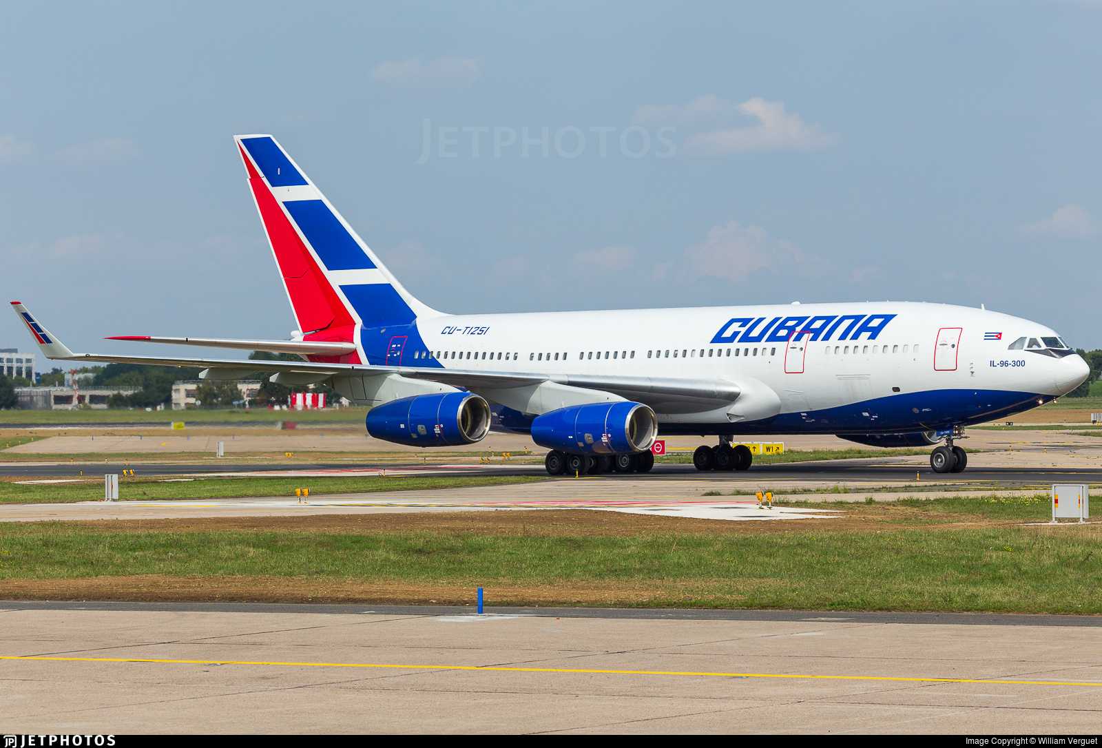 Cu T1251 Ilyushin Il 96 300m Cubana De Aviación William Verguet Jetphotos