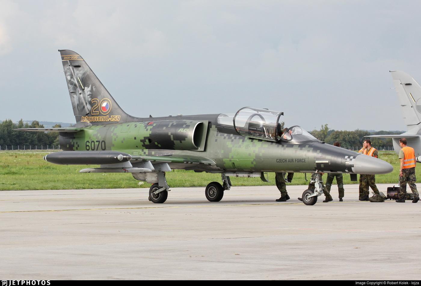 6070 - Aero L-159A Alca - Czech Republic - Air Force