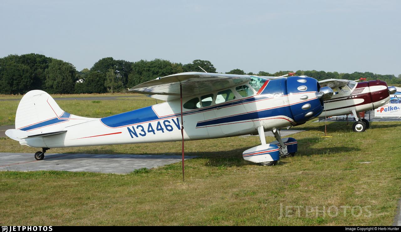 N3446V - Cessna 195A - Private