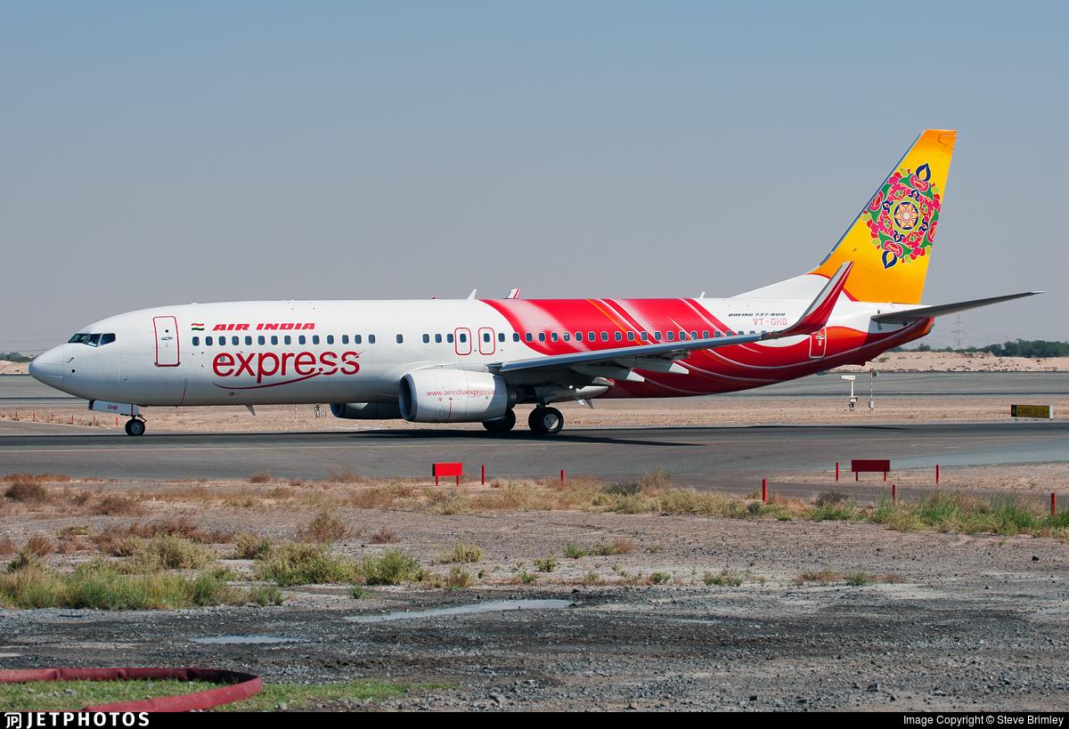 VT-GHB - Boeing 737-86N - Air India Express