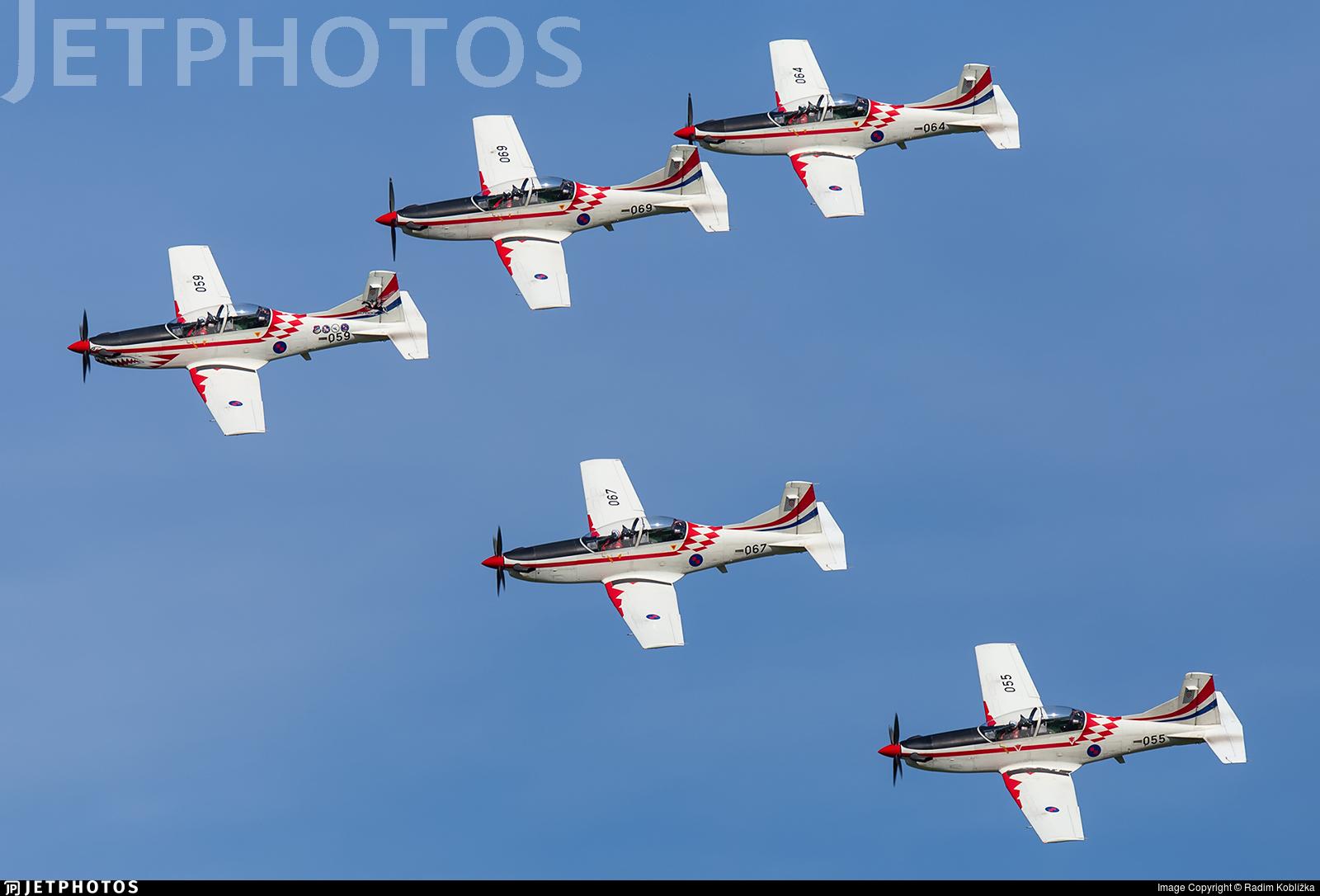 059 - Pilatus PC-9M - Croatia - Air Force