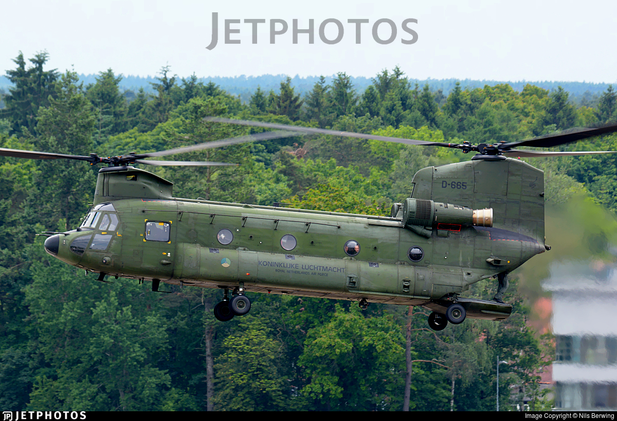 D-665 - Boeing CH-47D Chinook - Netherlands - Royal Air Force