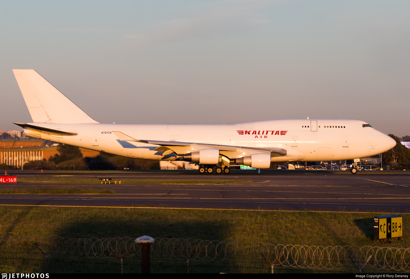 N707CK - Boeing 747-4B5(BCF) - Kalitta Air