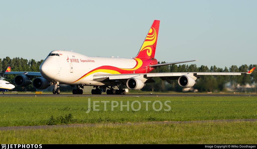 B-1340 - Boeing 747-4HAERF - Suparna Airlines