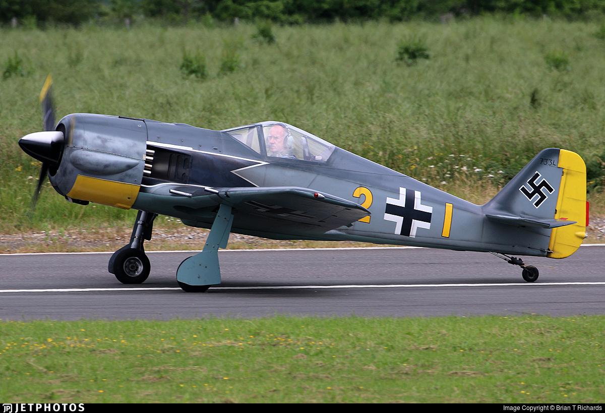 G-SYFW - War Aircraft Replicas Focke-Wulf Fw190 - Private