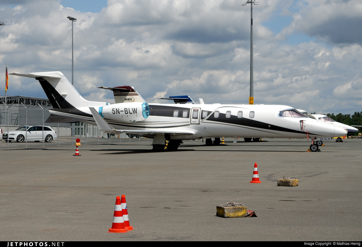 5N-BLW - Bombardier Learjet 45 - Private