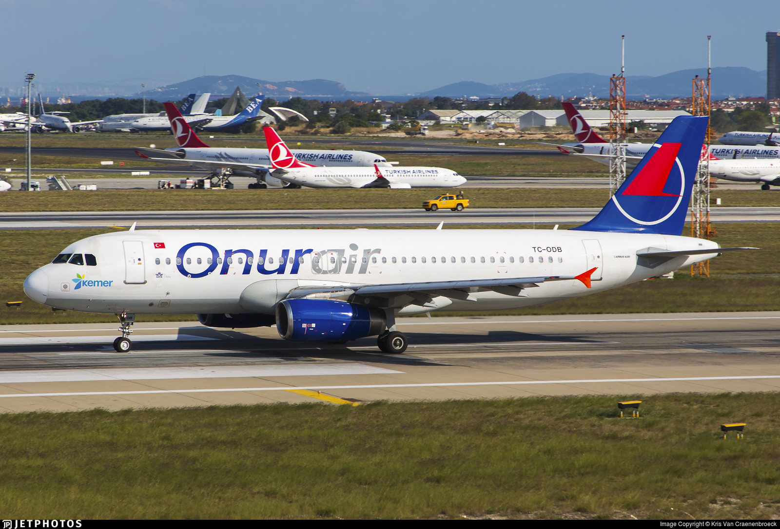 TC-ODB - Airbus A320-232 - Onur Air