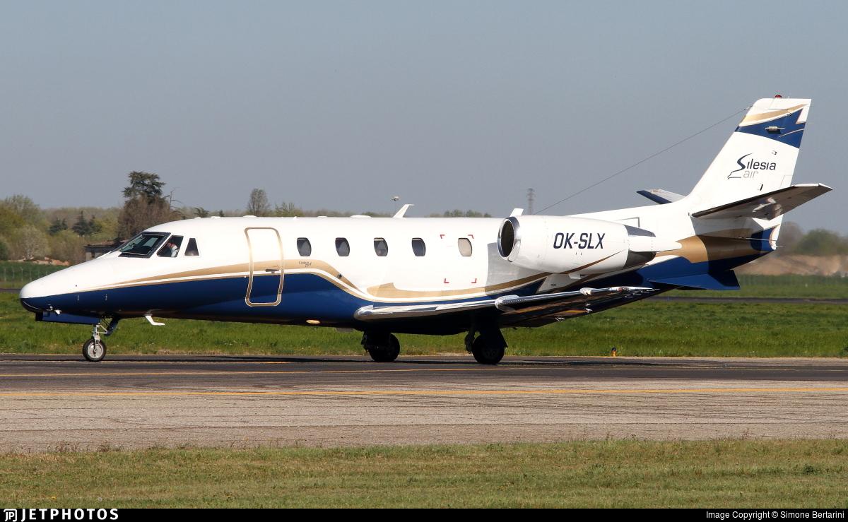 OK-SLX - Cessna 560XL Citation Excel - Silesia Air