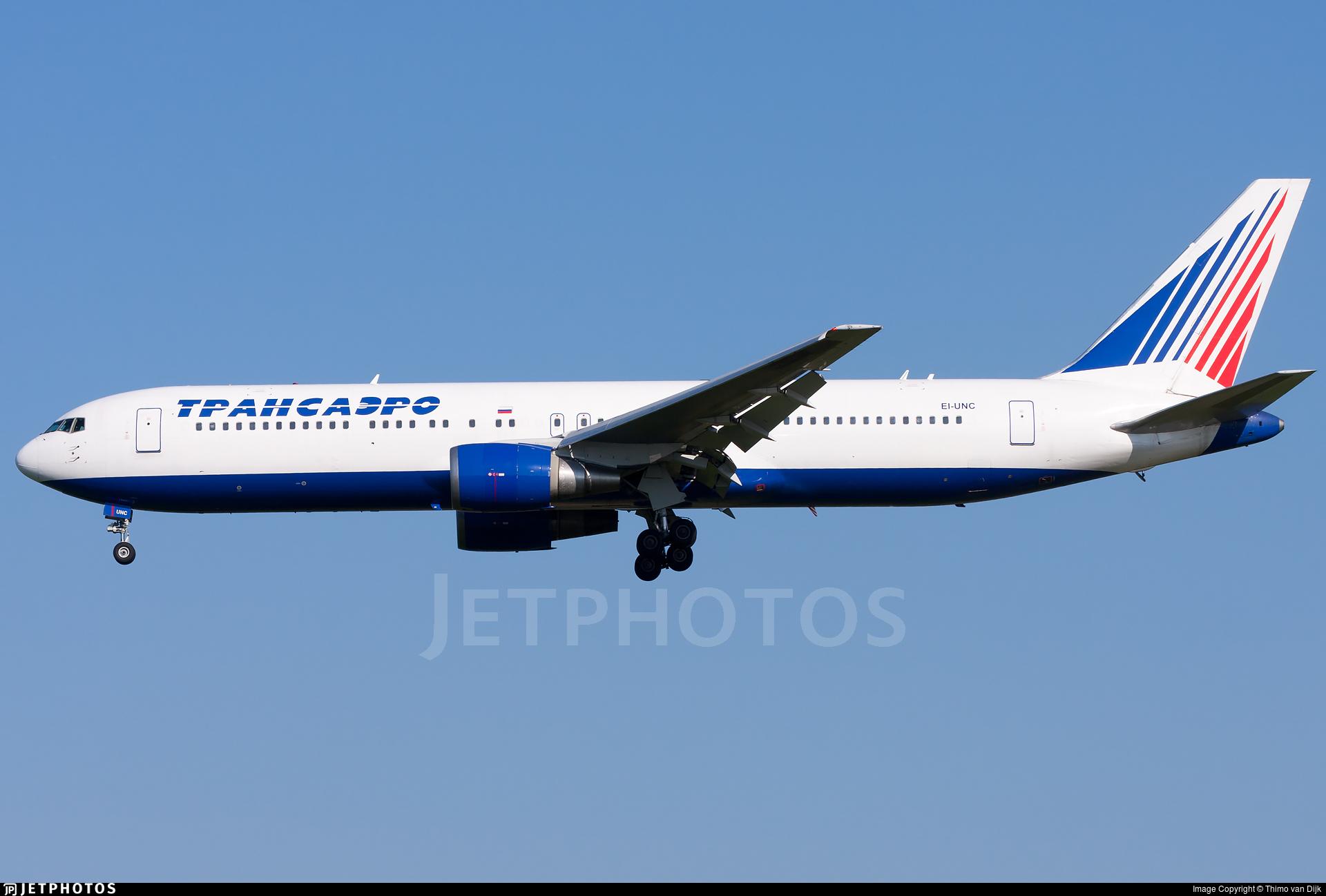 EI-UNC - Boeing 767-319(ER) - Transaero Airlines