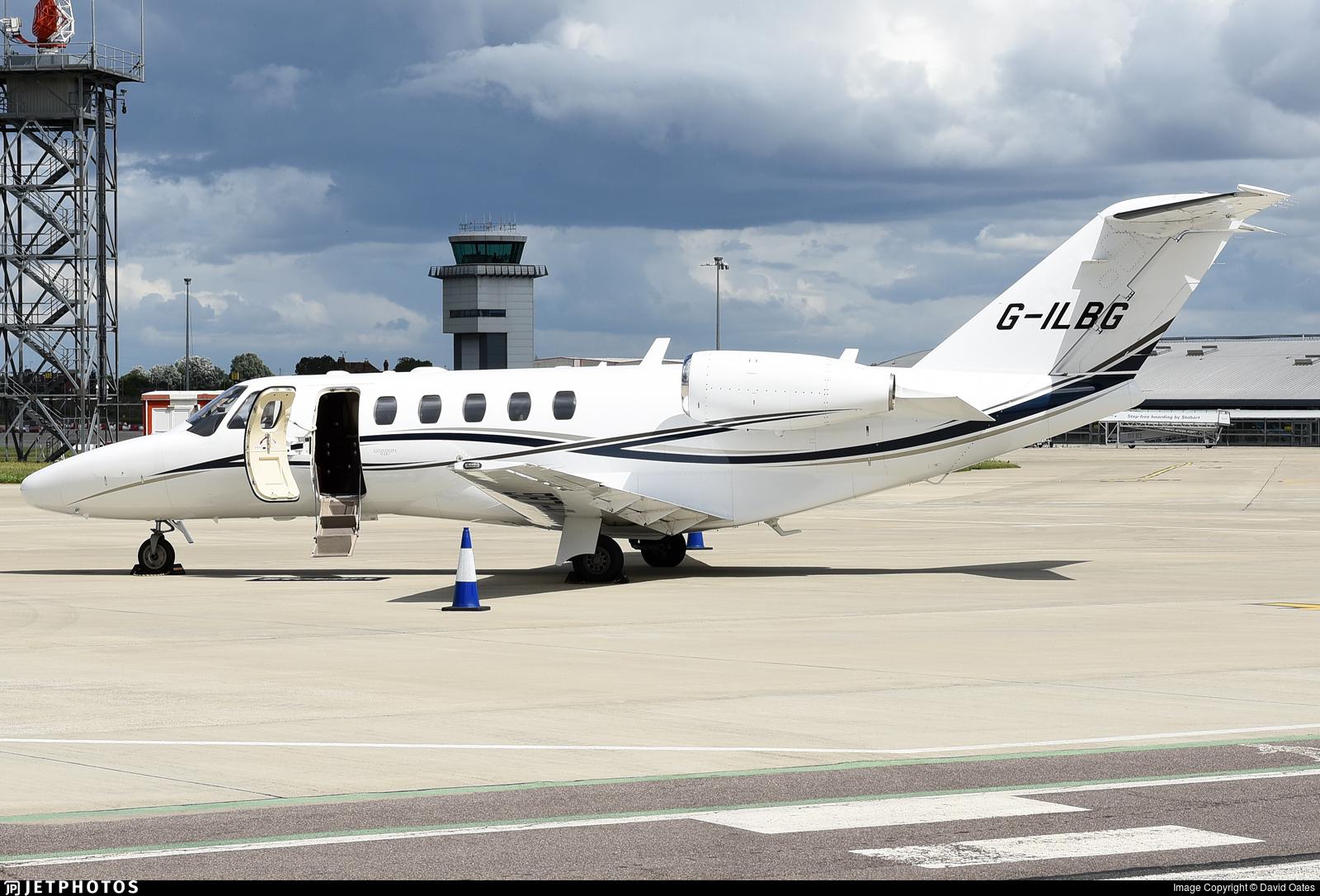 G-ILBG - Cessna 525A CitationJet CJ2 - Private