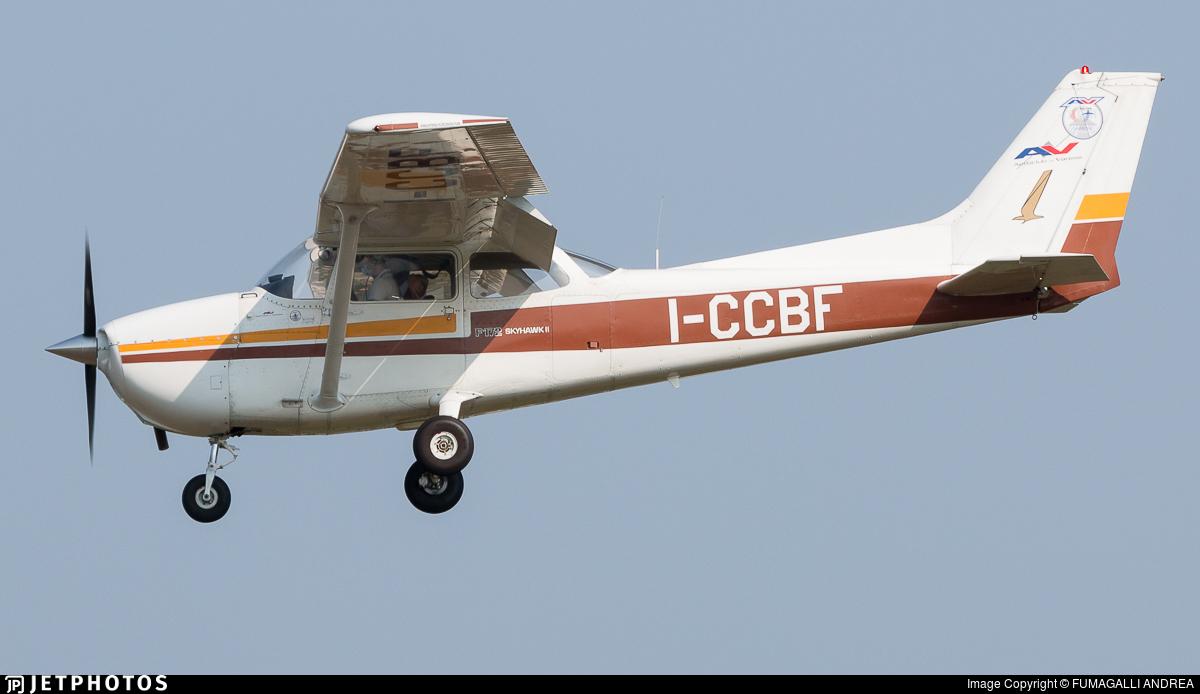 I-CCBF - Reims-Cessna F172N Skyhawk II - Aero Club - Varese