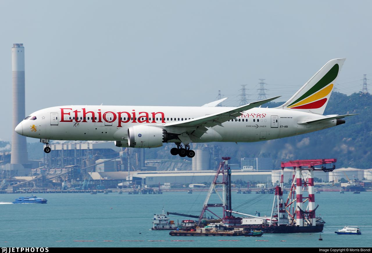 ET-ASI - Boeing 787-8 Dreamliner - Ethiopian Airlines