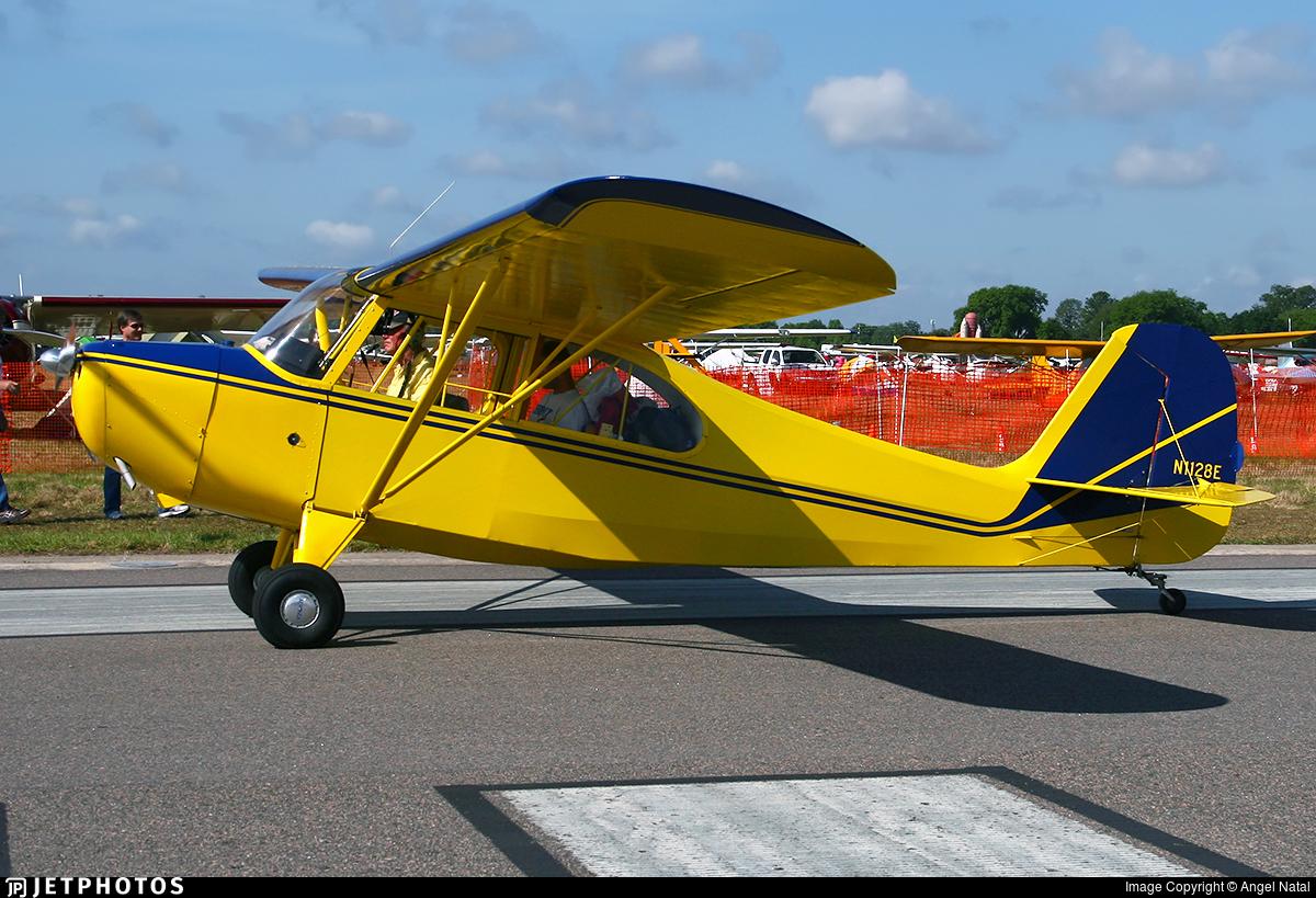 N1128E - Aeronca 7AC Champion - Private