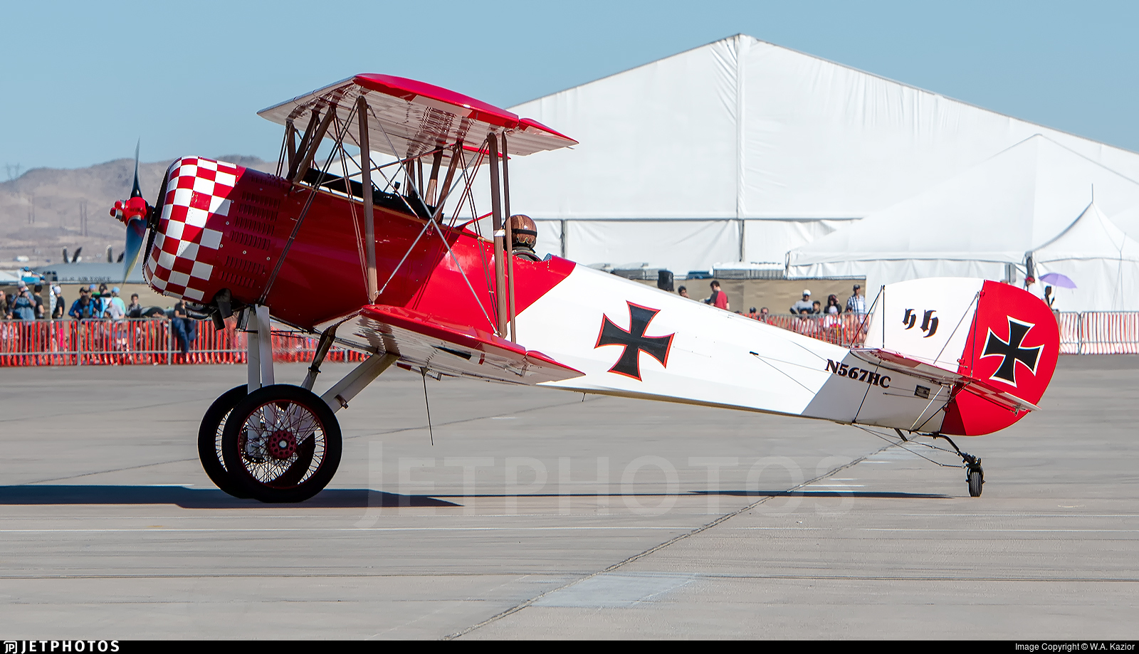 N567HC - Sopwith Pup - Private