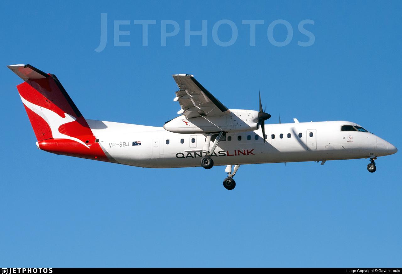 VH-SBJ - Bombardier Dash 8-Q315 - QantasLink (Eastern Australia Airlines)