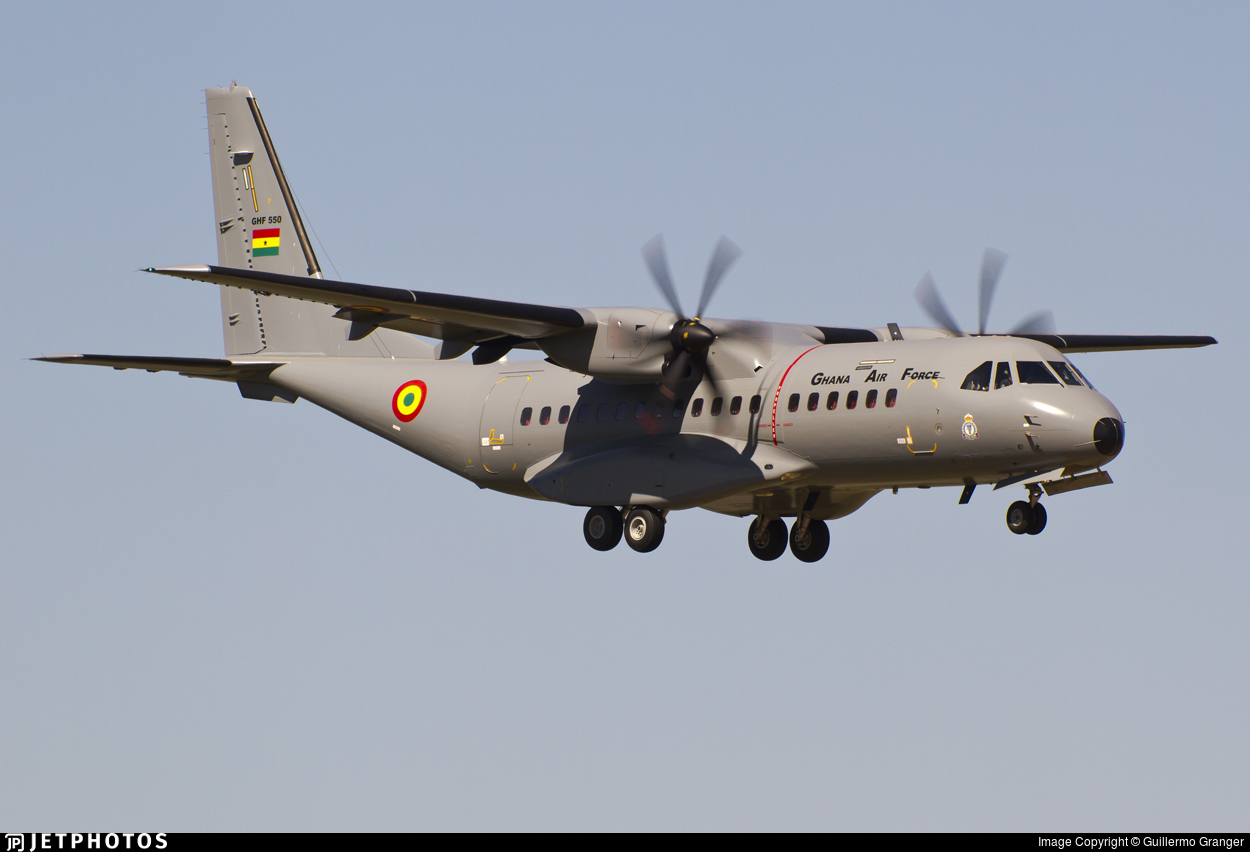 GHF550 - CASA C-295M - Ghana - Air Force