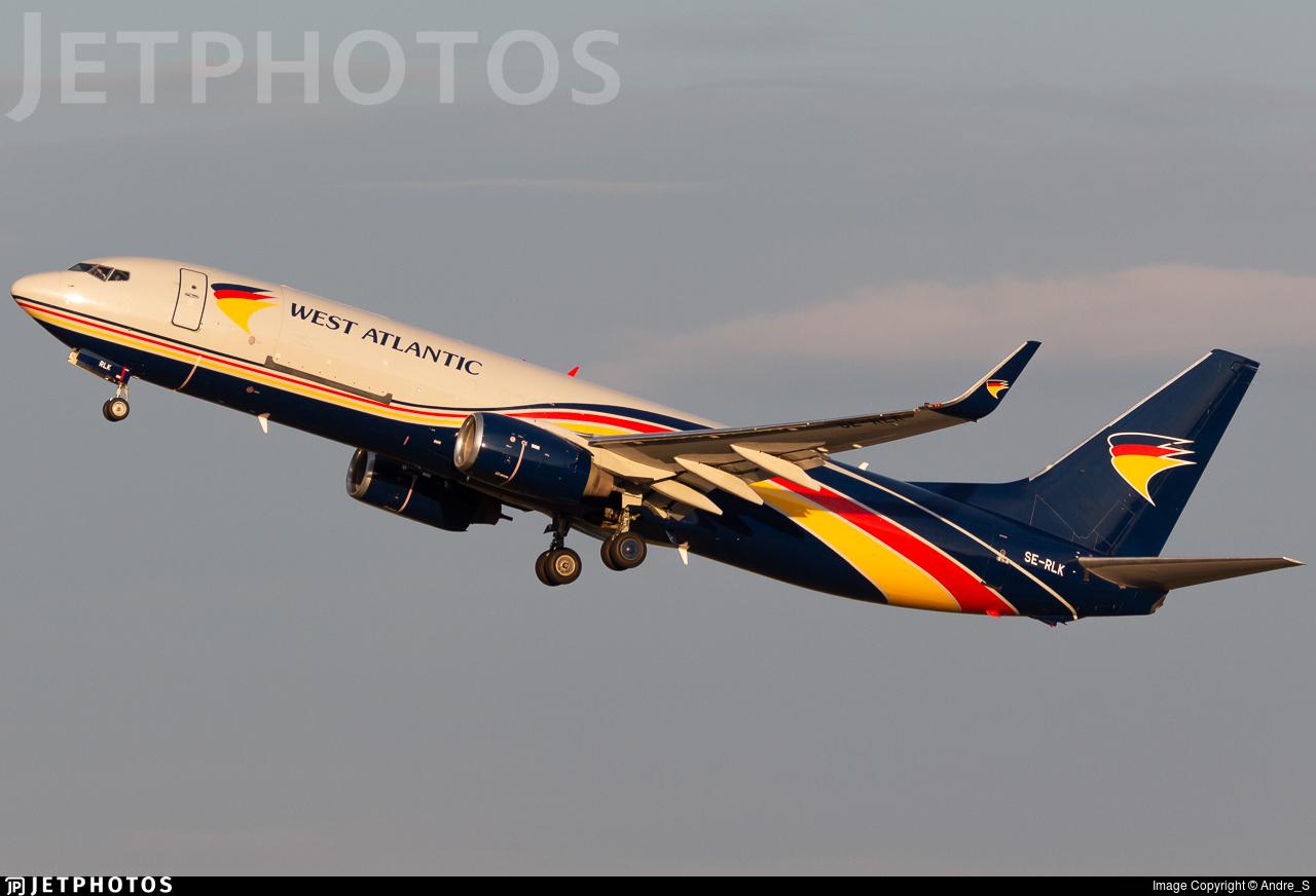 SE-RLK - Boeing 737-83N(BCF) - West Atlantic Airlines