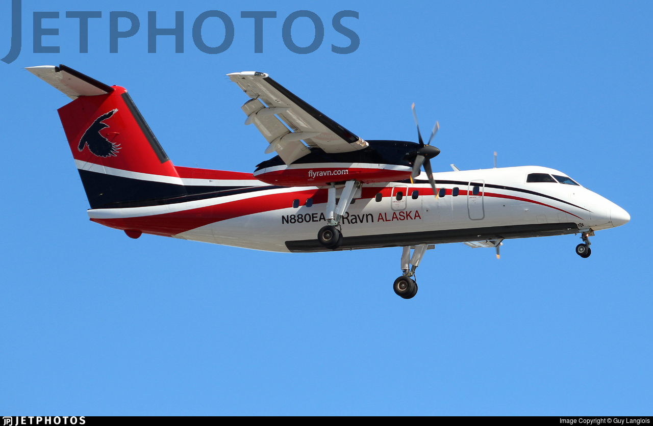 N880EA - Bombardier Dash 8-106 - Ravn Alaska