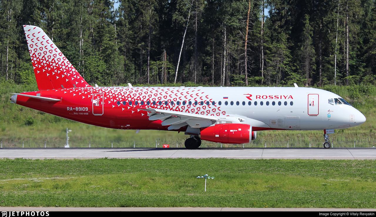 RA-89109 - Sukhoi Superjet 100-95B - Rossiya Airlines