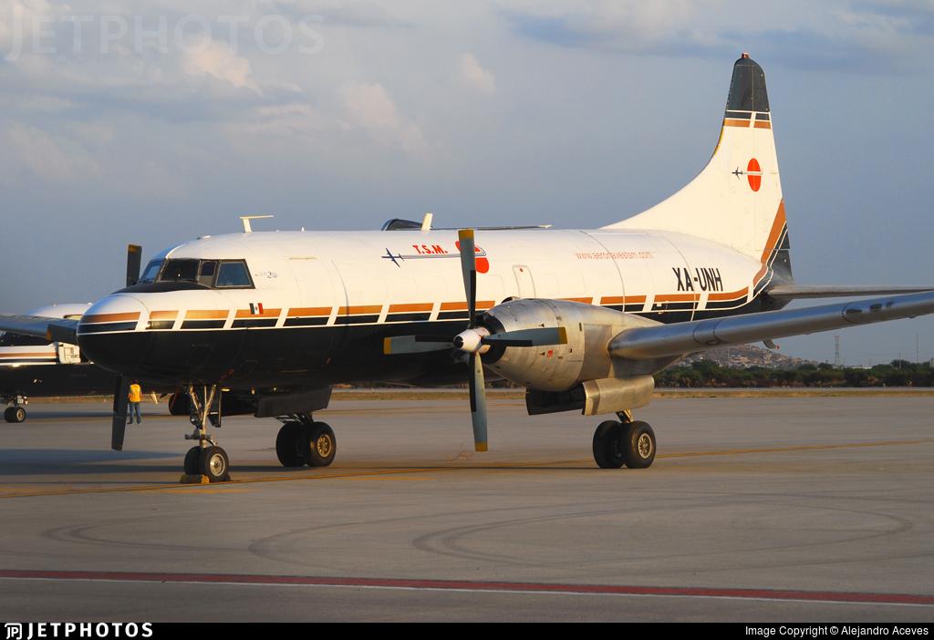 XA-UNH - Convair CV-640(F)(SCD) - Aeronaves TSM