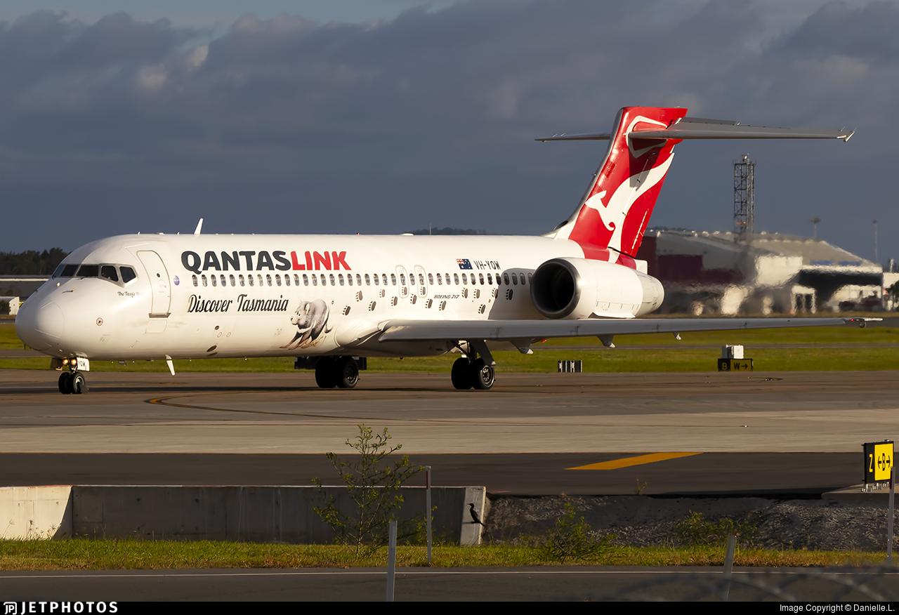 VH-YQW - Boeing 717-2BL - QantasLink (National Jet Systems)