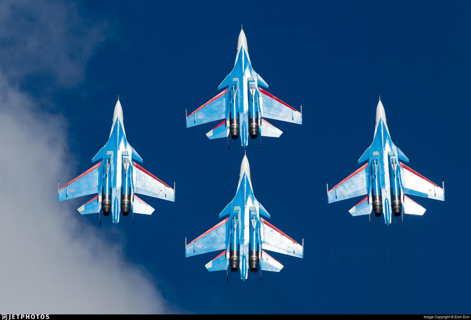 RF-81706 - Sukhoi Su-30SM - Russia - Air Force