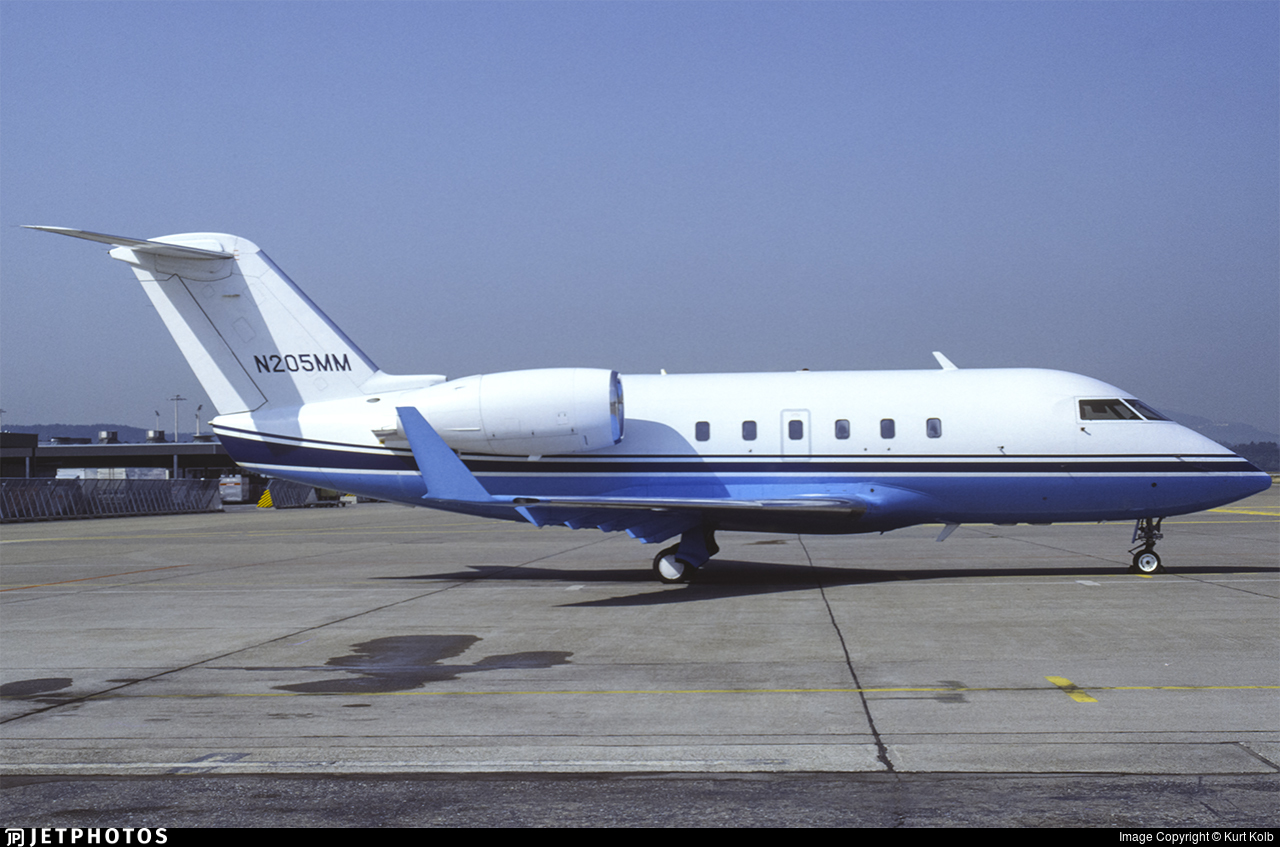 N205MM - Bombardier CL-600-2A12 Challenger 601 - Private