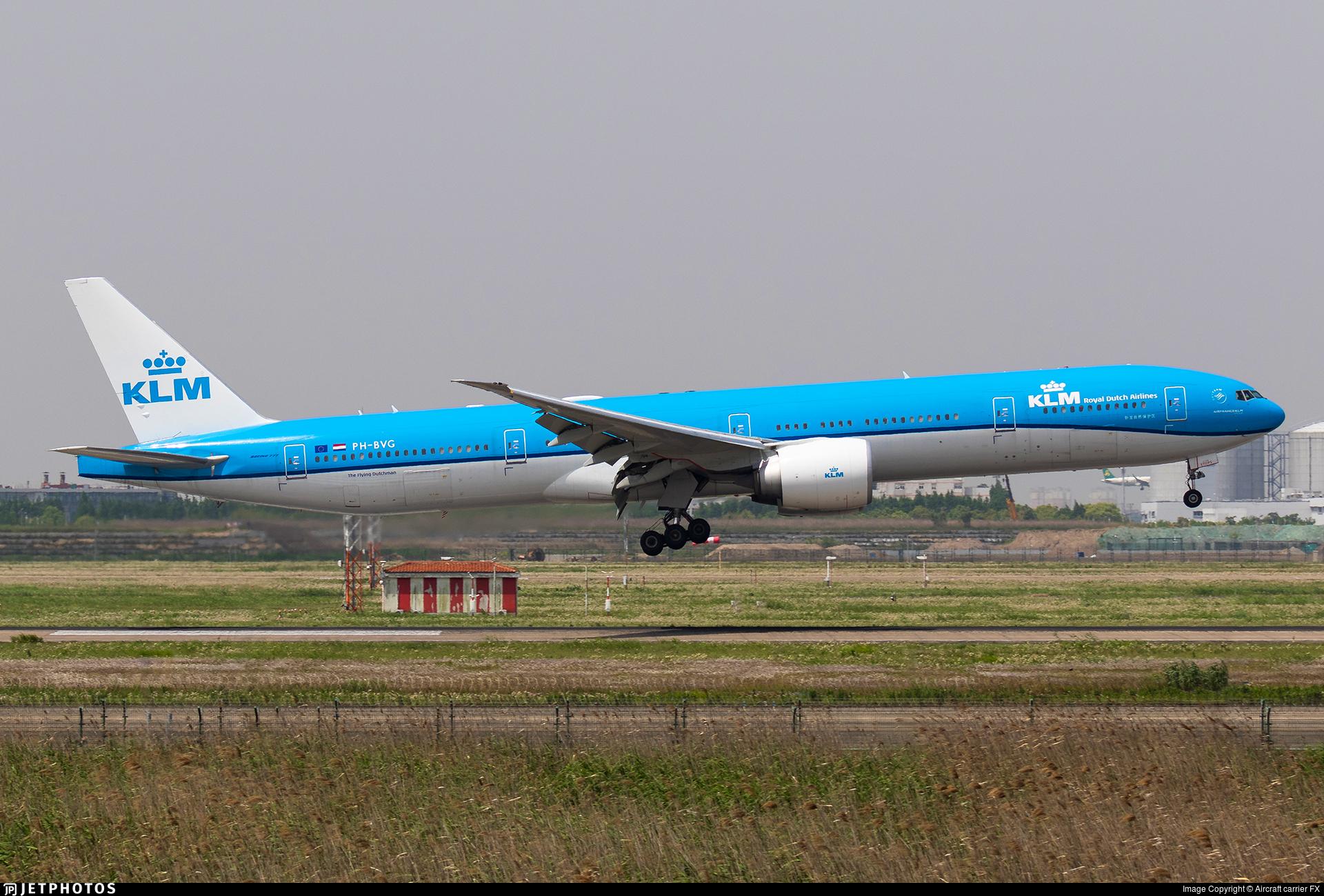 PH-BVG - Boeing 777-306ER - KLM Royal Dutch Airlines