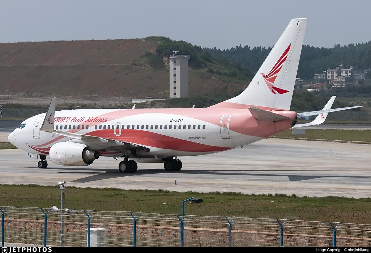B-5811 - Boeing 737-76J - Ruili Airlines