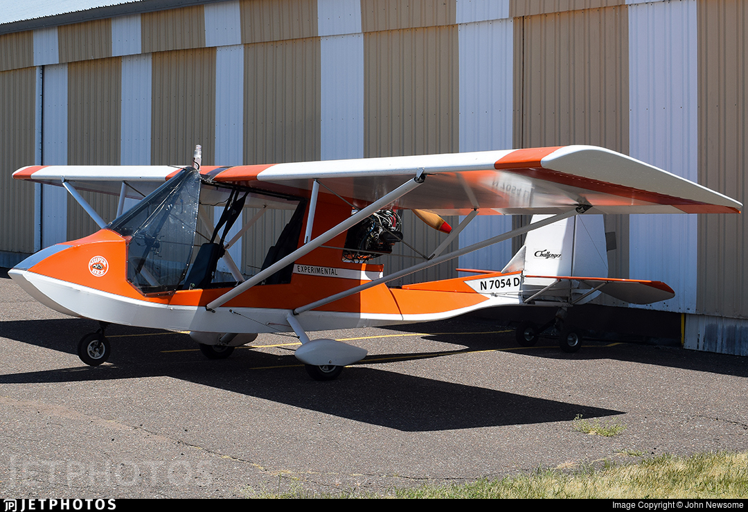N7054D - Quad City Challenger II - Private