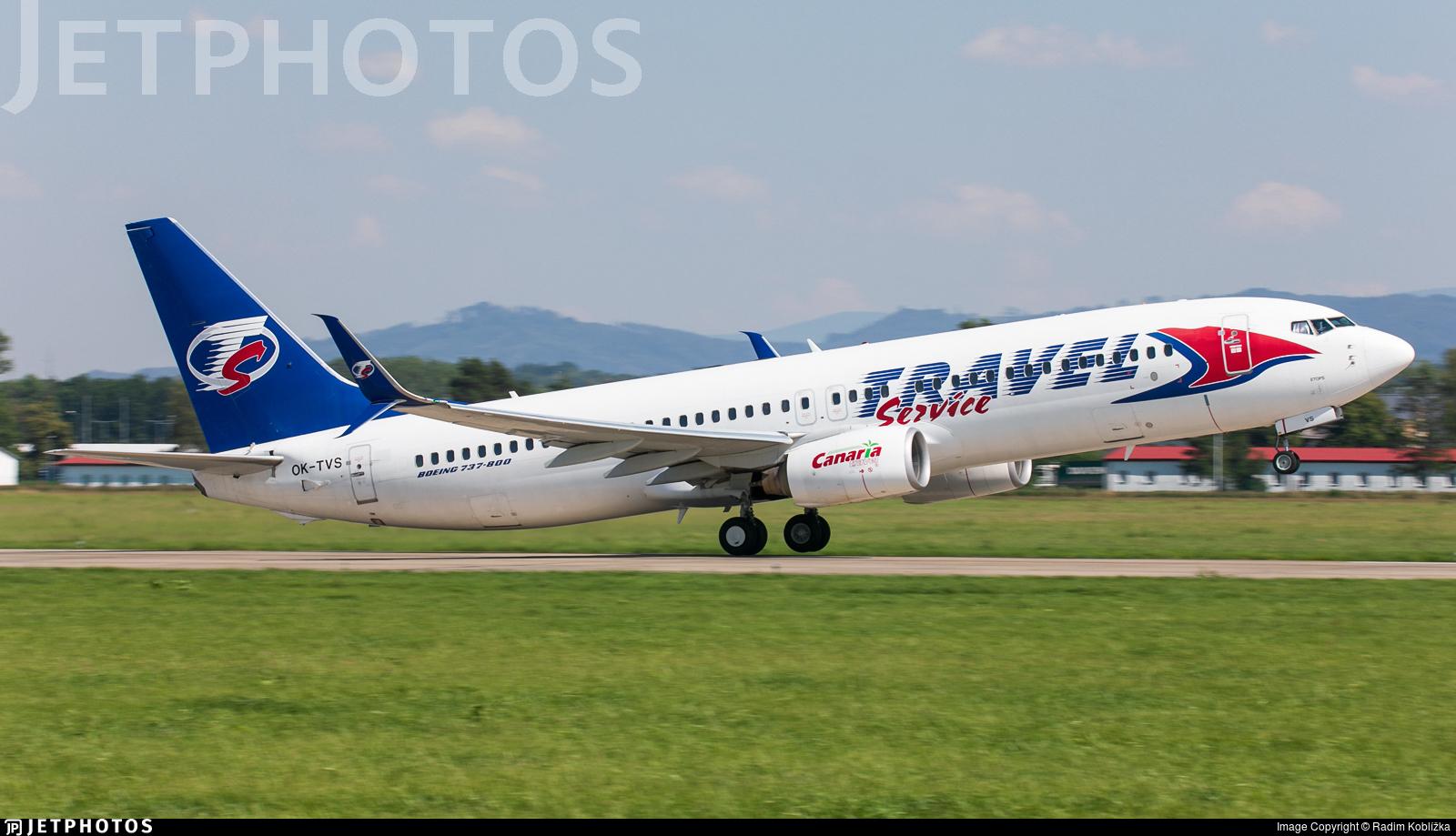 OK-TVS - Boeing 737-86N - Travel Service