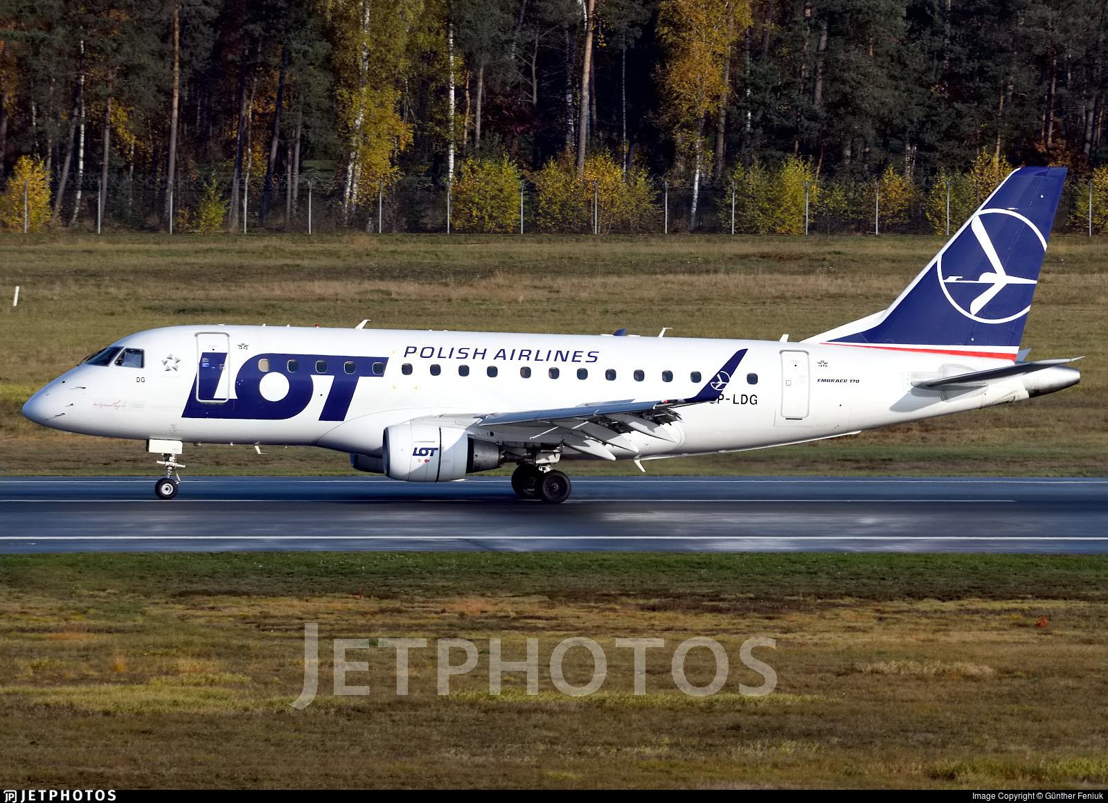 SP-LDG - Embraer 170-100LR - LOT Polish Airlines
