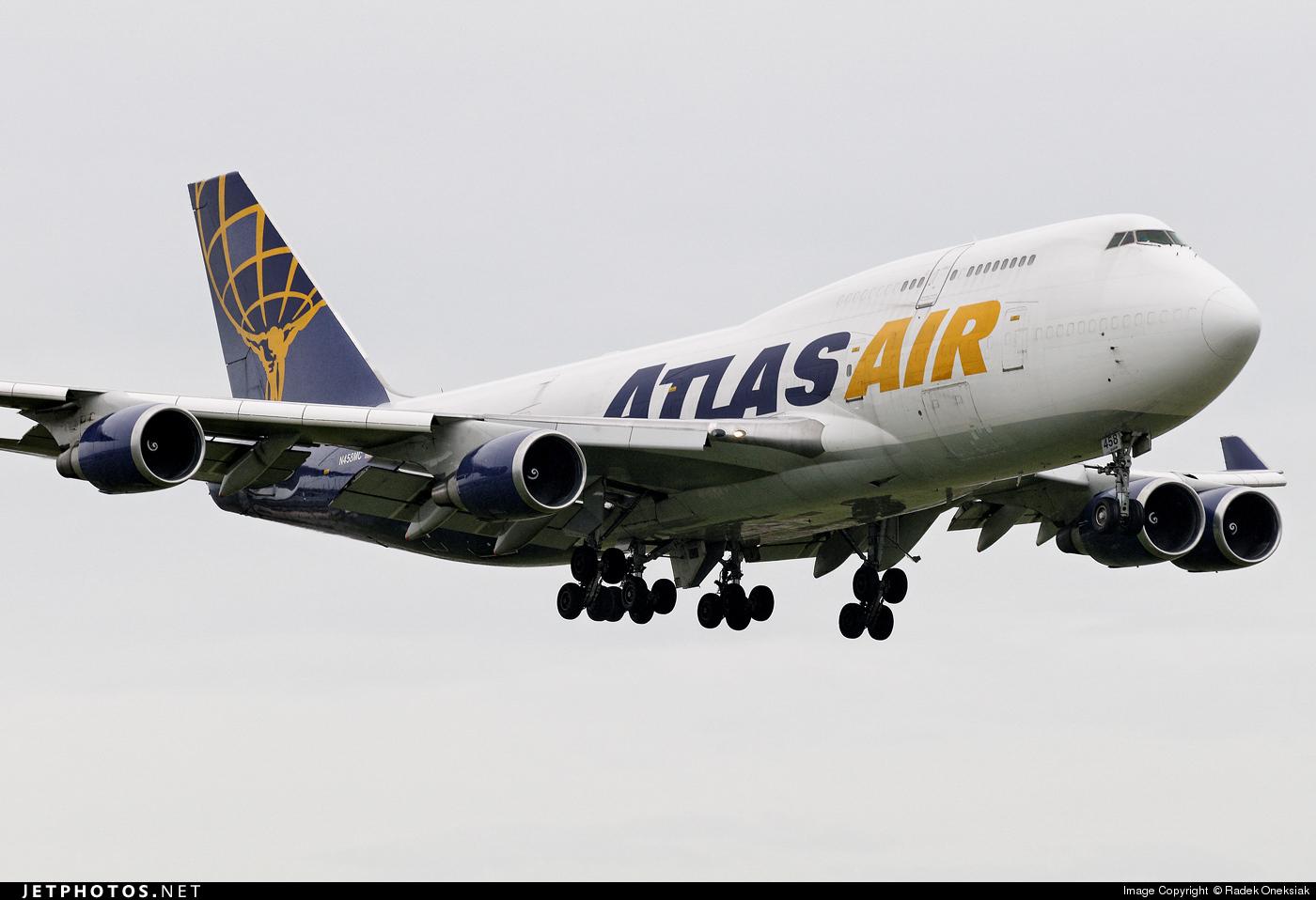 N458MC - Boeing 747-446(BCF) - Atlas Air