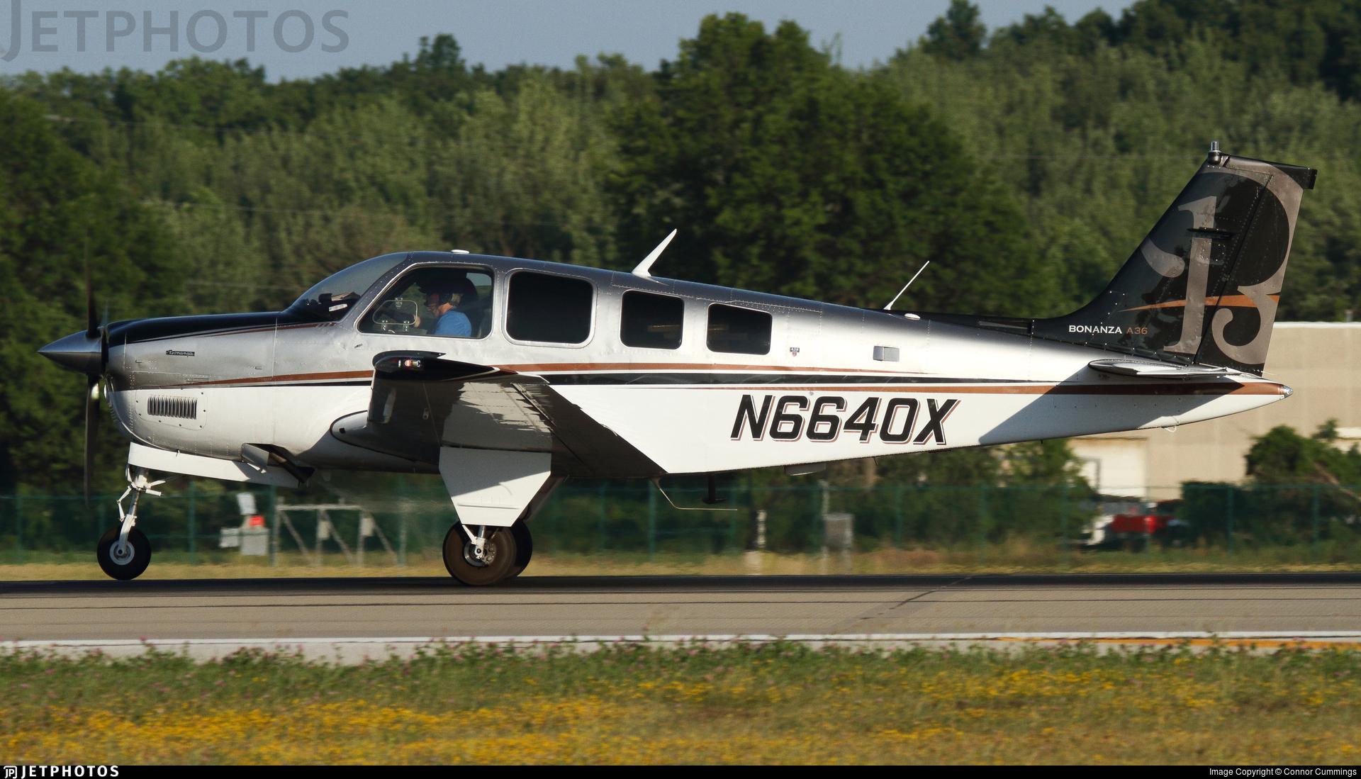N6640X - Beech A36 Bonanza - Private