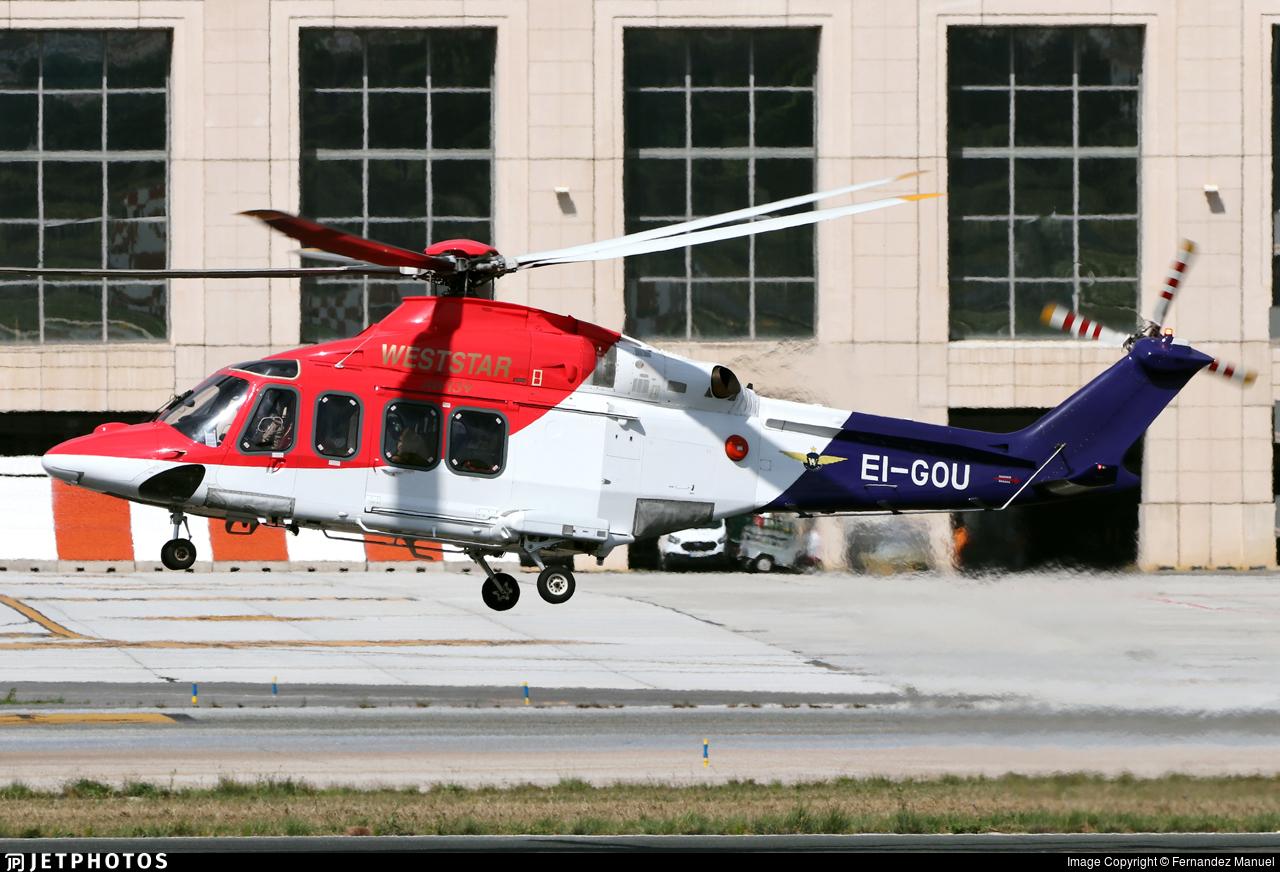 EI-GOU - Agusta-Westland AW-139 - Weststar Aviation Services
