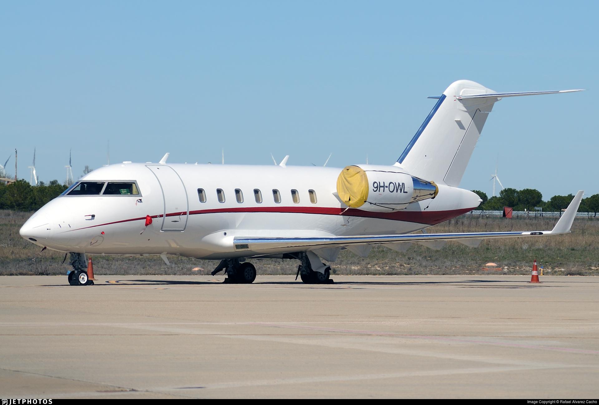 9H-OWL - Bombardier CL-600-2B16 Challenger 605 - Comlux Aviation Malta