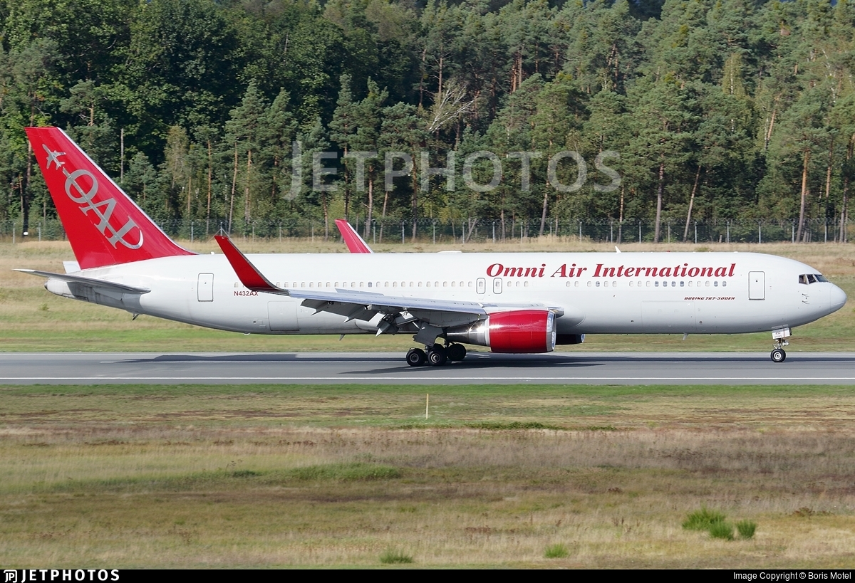 N432AX - Boeing 767-323(ER) - Omni Air International (OAI)
