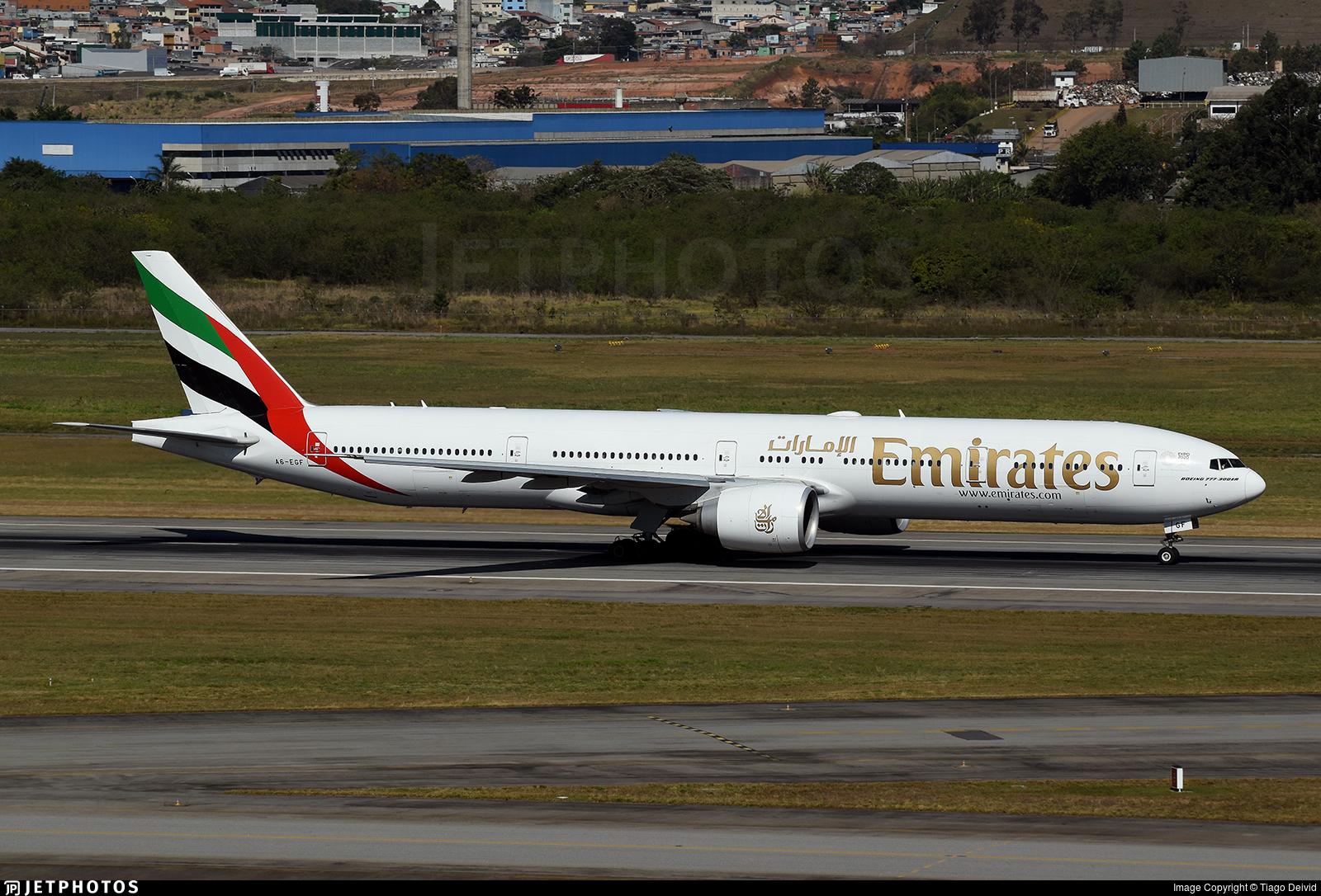 A6-EGF - Boeing 777-31HER - Emirates