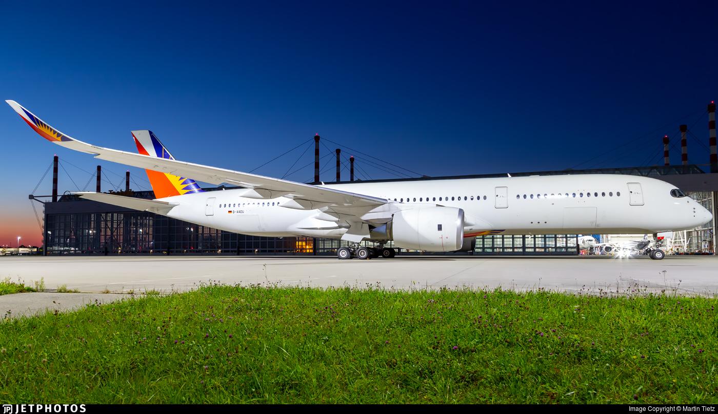 D-AAEU - Airbus A350-941 - Untitled