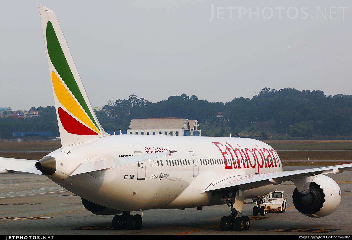 ET-ARF - Boeing 787-8 Dreamliner - Ethiopian Airlines