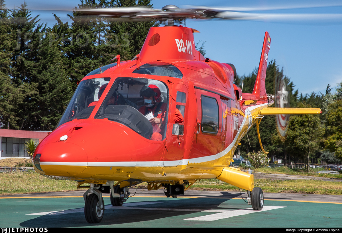 BQ-102 - Agusta A109K2 - Ecuador - Quito Firefighters