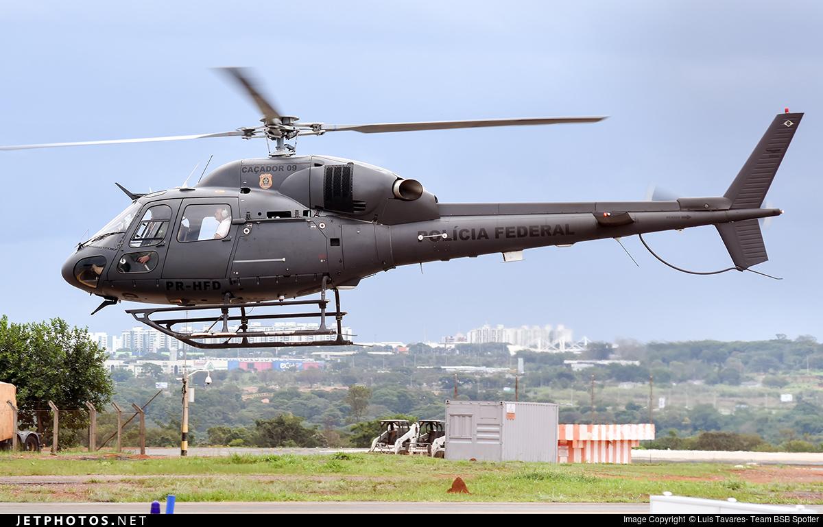 PR-HFD - Eurocopter AS 355N Ecureuil 2 - Brazil - Federal Police