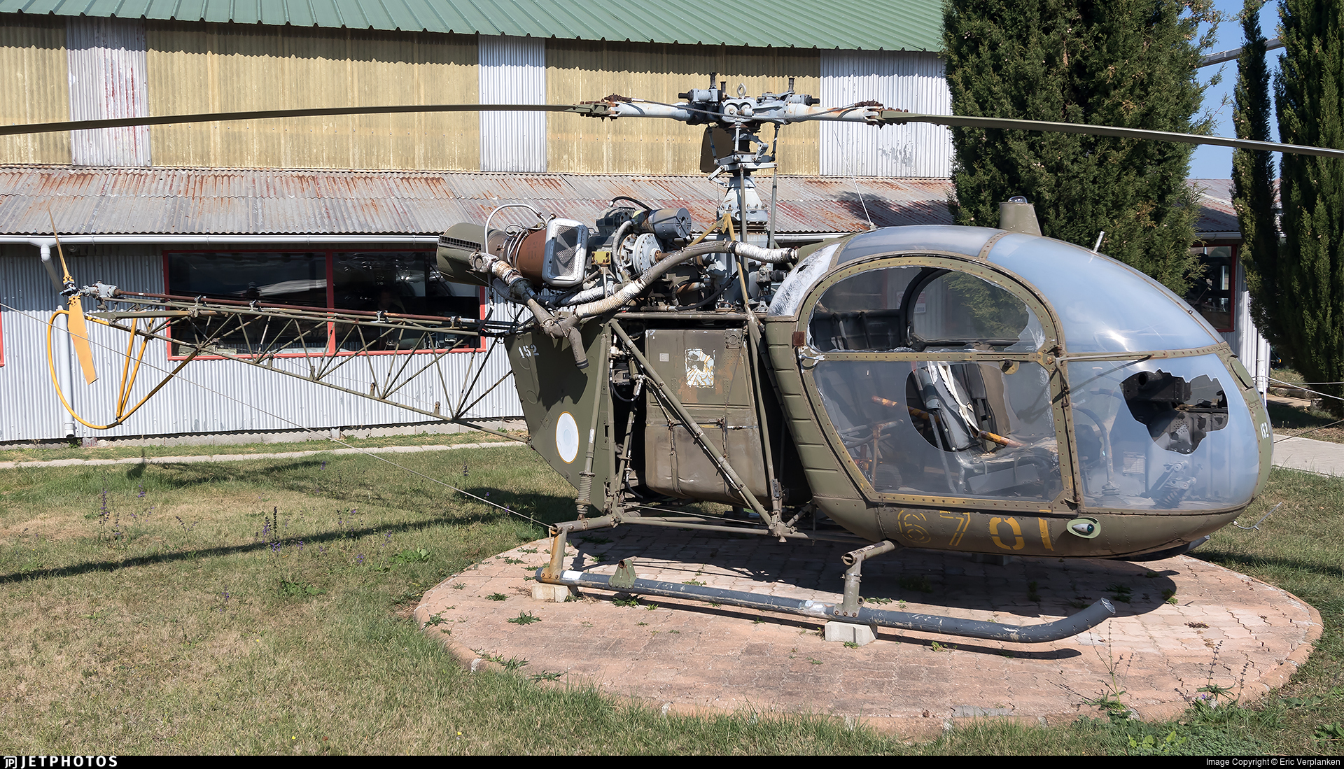 152 - Aérospatiale SA 318C Alouette II - France - Air Force